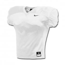 908729-100_Maillot d'entrainement de football américain nike Stock Vapor varsity practice Blanc