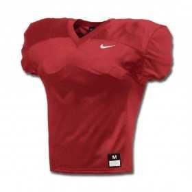 908729-657_Maillot d'entrainement de football américain nike Stock Vapor varsity practice rouge