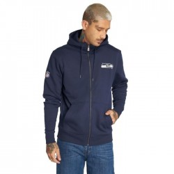 11604024_Veste Zippé NFL Seattle SeaHawks New Era Team Apparel NO Bleu marine pour homme