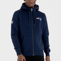 11604026_Veste Zippé NFL New England Patriots New Era Team Apparel NO Bleu marine pour homme