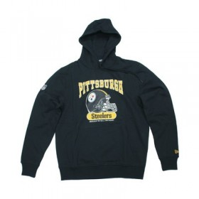 11604072_Sweat à Capuche NFL Pittsburgh Steelers New Era Archie Hoody Noir