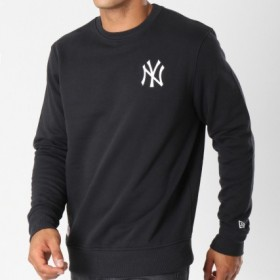 11604140_Sweat MLB New York Yankees New Era Essiential crew Noir pour homme