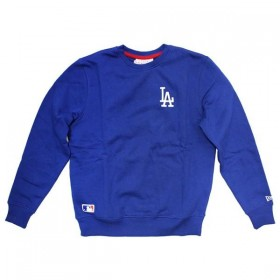 11604141_Sweat MLB Los Angeles Dodgers New Era Essiential crew Bleu pour homme