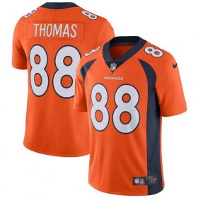 EZ1B7N1P9_Maillot NFL Demaryuis Thomas Denver Broncos Nike Game Team pour junior Orange