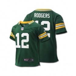 EZ1B3N9P9RODGERS_Maillot NFL Aaron Rogers Greenbay Packers Nike Game Team Vert pour Enfant