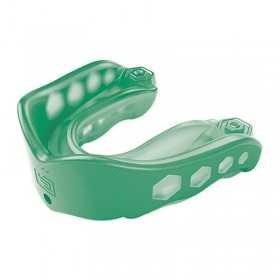 6323_Protège dents Shock Doctor Gel Max Flavor Menthe avec strap vert