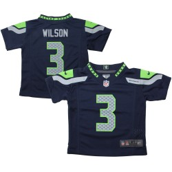 EZ1B3N1P9WILSON_Maillot NFL Seattle Seahawks Russell Wilson Nike Game Team pour enfant Bleu marine