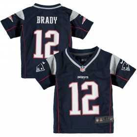 EZ1B3N1P9BRAD_Maillot NFL Tom Brady New England Patriots Nike Game Team pour enfant Bleu Marine