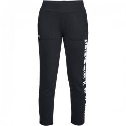 1317858-001_Pantalon de Jogging Under Armour Rival toison Noir pour Femme