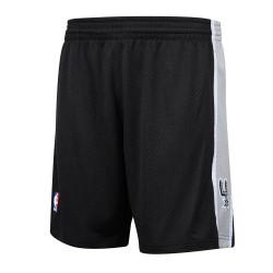 BA30ZC-SAS-K-JIF_Short NBA San Antonio Spurs 1998-99 Mitchell & Ness Swingman Noir pour Hommes