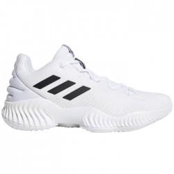 Chaussures de Basketball adidas Pro Bounce 2018 low Blanc pour homme
