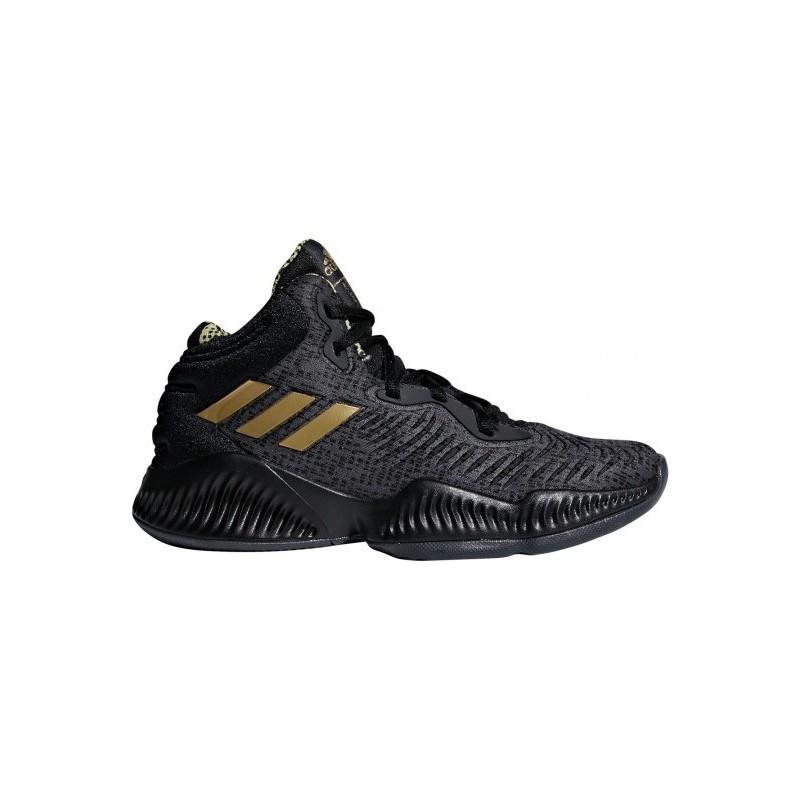 4de5dbdf99150 BB7545 Chaussure de Basketball adidas Mad Bounce 2018 Noir Pour Junior
