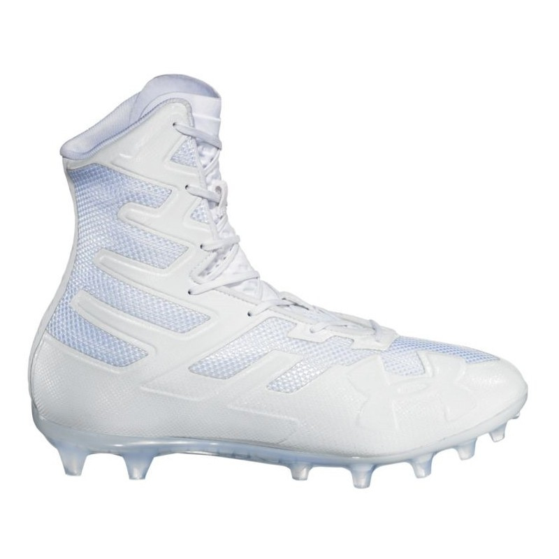 reputable site 34b73 e985d 3000177-100 Crampons de Football Americain Under Armour Highlight MC 2018  Blanc