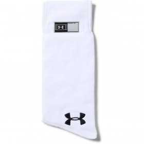 1304700-100_Serviette de football américain Under armour Undeniable Player Towel blanc