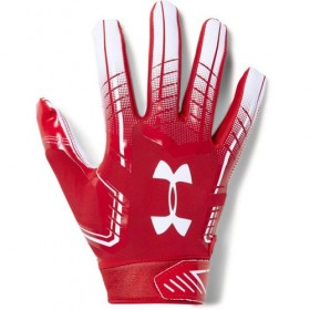 1304694-600_Gant de Football Americain Under Armour F6 Pour Receveur rouge
