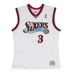 MN-NBA-353J-3P6-FGYAIV_Maillot NBA Allen Iverson Philadelphie Sixers 2000-01 Mitchell & ness Hardwood Classic swingman Blanc