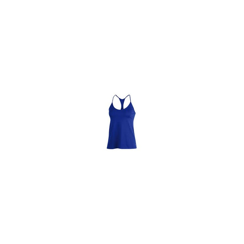 facad04c5503e 1325580-436_Débardeur Under Armour Heatgear Solid Fashion Bleu pour femme