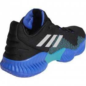 Chaussures de Basketball adidas Pro Bounce 2018 low Bleu pour homme