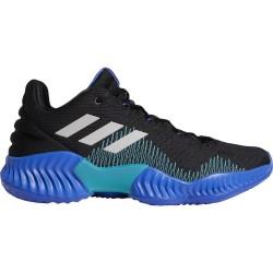 AC7427_Chaussures de Basketball adidas Pro Bounce 2018 low Bleu pour homme
