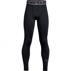 1306067-001_bas de compression pour enfant Under Armour Coldgear Armour legging Noir