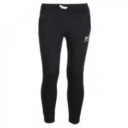 1320135-002_antalon de Jogging Under Armour Cotton Fleece noir pour enfant
