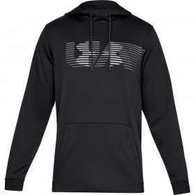 1320748-001_Sweat à capuche Under armour Fleece Spectrum PO Hoodie Noir Pour Homme