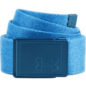 1306535-487_Ceinture de baseball Under Armour Novelty Webbing Bleu