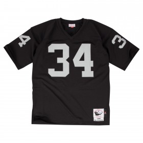 7220-2R5-90BOJAC_Maillot NFL Bo Jackson Los Angeles Raiders 1990 Mitchell & Ness Authentic Noir pour Homme