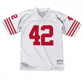 7354-292-90RLOT2_Maillot NFL Ronnie Lott San Francisco 49ers 1990 Mitchell & Ness Legacy Retro Blanc pour Homme