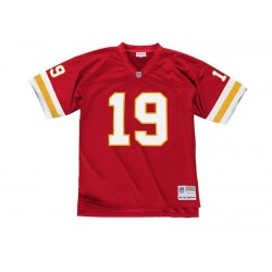 7354-221-94JMON1_Maillot NFL Joe Montana Kansas city Chiefs 1994 Mitchell & Ness Legacy Retro rouge pour Homme
