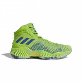 B41856_Chaussures de Basketball adidas Pro Bounce 2018 vert pour homme