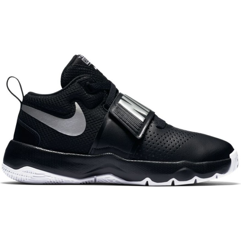 the latest bcd1e 54f99 881942-001 Chaussure de Basketball Nike Team Hustle D 8 (PS) Noir pour  enfant