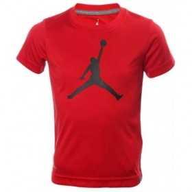 954293-R78_T-shirt Jordan Big Logo Rouge Pour Enfant