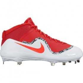 917920-668_Crampons de Baseball métal Nike Air Trout 4 Mid Rouge Pour Homme