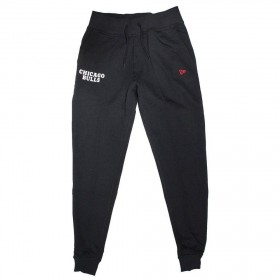 11604121_Pantalon NBA Chicago Bulls New Era Team Apparel Jogger Noir pour Homme