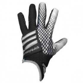 AF0202-239_Gant de Football Americain padder Adidas Crazyquick 2.0 Pour Receveur Noir