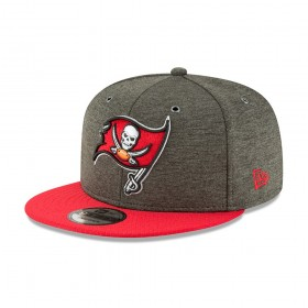 11762509_Casquette NFL Tampa bay Buccaneers New Era 2018 Sideline Home 9Fifty Snapback Vert
