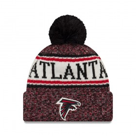 11768204_Bonnet NFL Atlanta Falcons New Era On Field 2018 à pompon Rouge