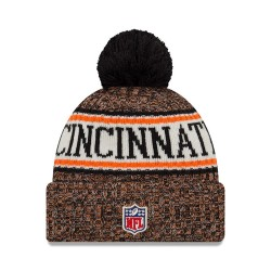 11768195_Bonnet NFL Cincinnati Bengals New Era On Field 2018 à pompon Orange
