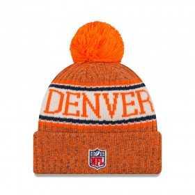 11768192_Bonnet NFL Denver Broncos New Era On Field 2018 à pompon Orange