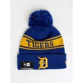 80635850_Bonnet MLB Detroit Tigers à pompon New Era Seasonal Jake bleu