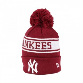 80635851_Bonnet MLB New York Yankees à pompon New Era Seasonal Jake Rouge