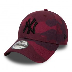 80636089_Casquette de Baseball MLB New-York Yankees New era Camo Color 9Forty Adjustable Rouge