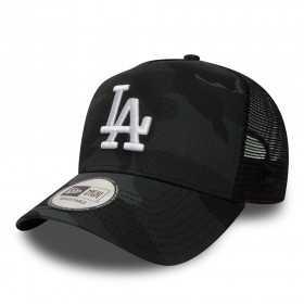 80635993_Casquette de Baseball MLB Los Angeles Dodgers New era Camo Color Trucker Adjustable Noir