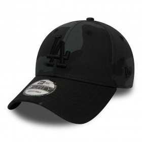 80636088_Casquette de Baseball MLB Los Angeles Dodgers New era Camo Color 9Forty Adjustable Noir