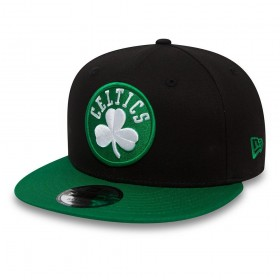 Casquette NBA Boston Celtics New Era Contrast Team Snapback 9Fifty Vert