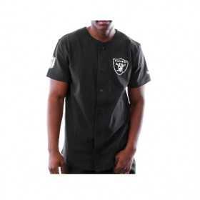 11841051_Chemise NFL Oakland Raiders New Era Etablished Noir pour homme