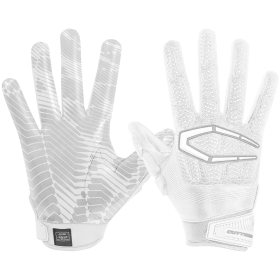 S652WHT_Gant de Football américain Cutters The Gamer 3.0 Blanc