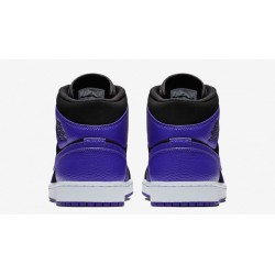 separation shoes c8954 18f71 Chaussure Air Jordan 1 Mid Noir