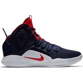 AO7893-400_Chaussure de Basketball Nike Hyperdunk X Bleu marine pour homme